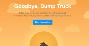 Dump Truck stopgezet
