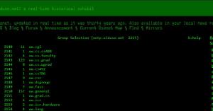 Hoe Usenet er 30 jaar geleden uitzag