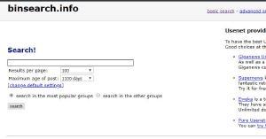 Problemen met de harde schijf zorgen ervoor dat Binsearch.info een tijdje offline is