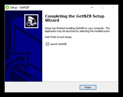 Getnzb Newsreader Launch Get N Z B 7