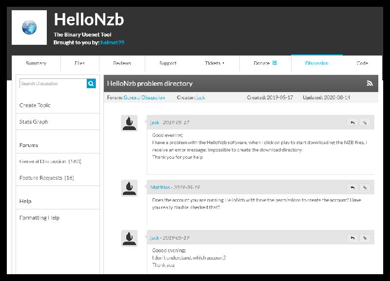 Hellonzb Problem Directory