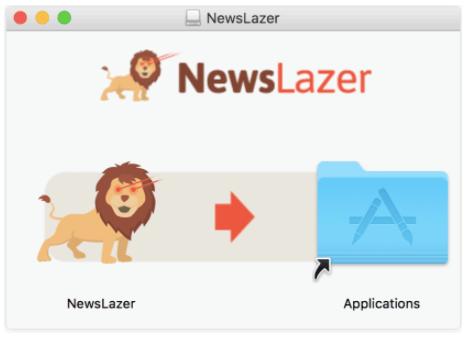 Newslazer Install2