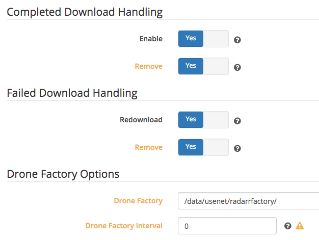 Radarr Download Handling