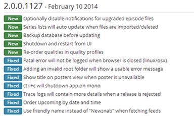 Sonarr Frequent Updates