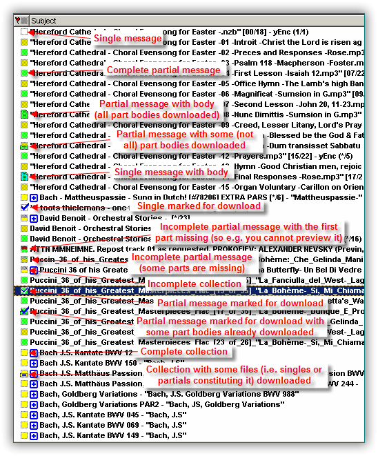 Usenetexplorer Newsreader Search Results Meaning