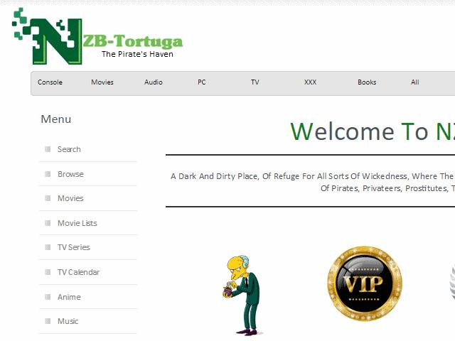 Nzb Tortuga Vip Plans