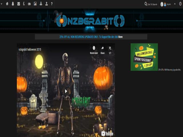 Nzbgrabit Homepage Holloween