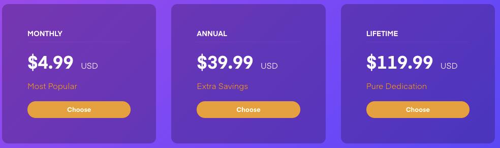 Plex Pricing
