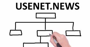 De USENET-nieuwshiërarchie